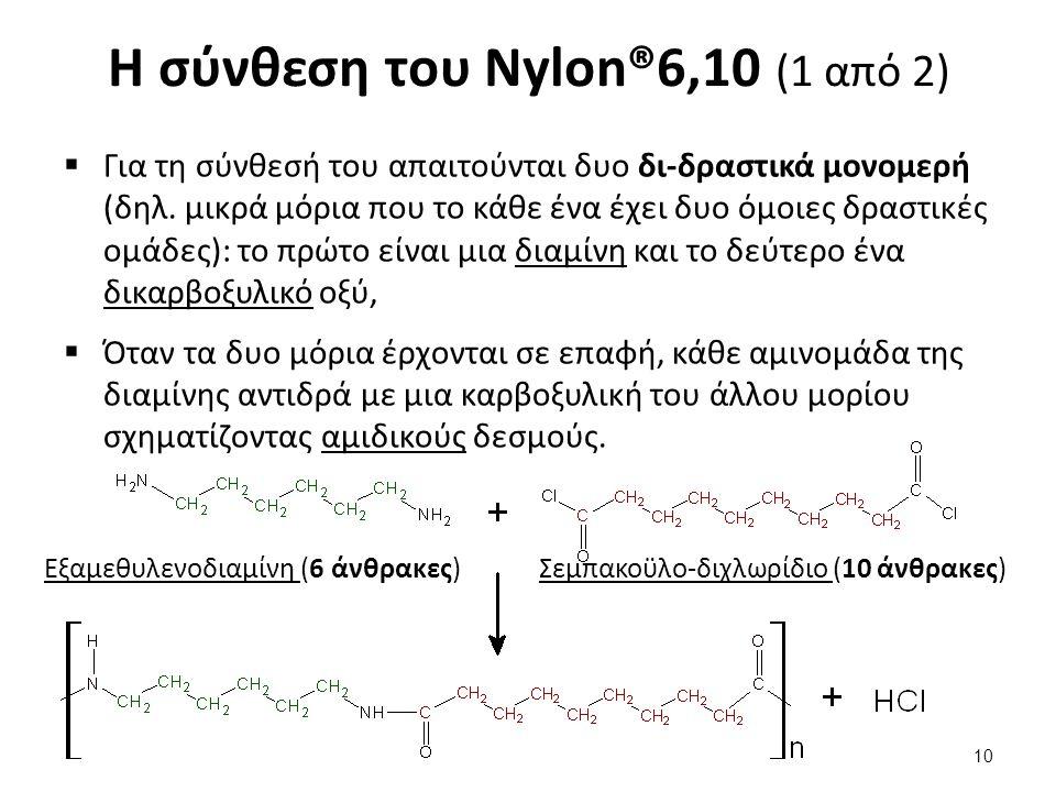 Η σύνθεση του Nylon® (2 από 2)