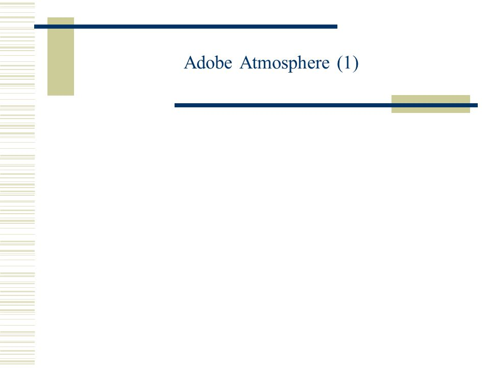 Adobe Atmosphere (1)