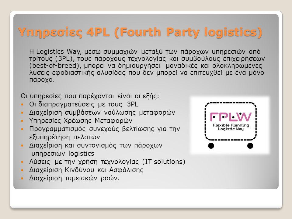 Υπηρεσίες 4PL (Fourth Party logistics)