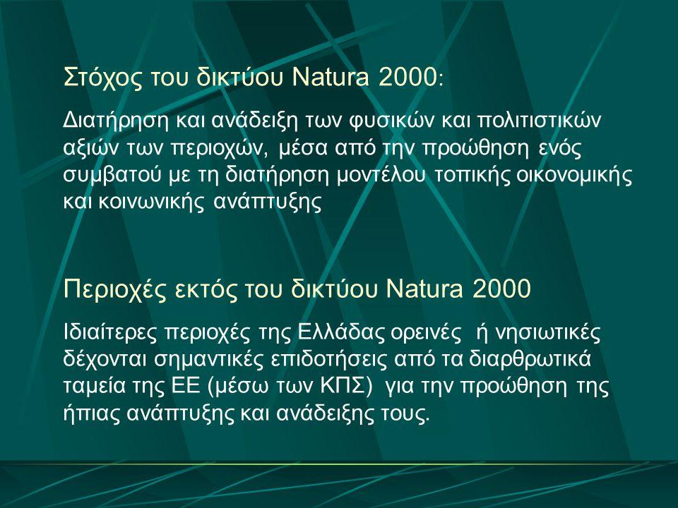 Στόχος του δικτύου Natura 2000: