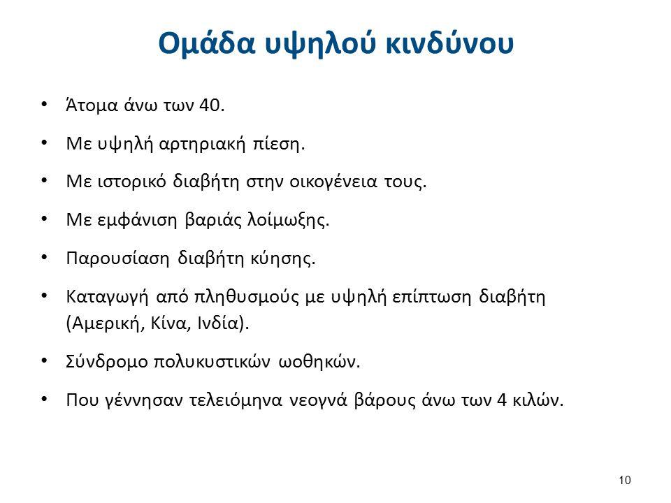 Σύγχρονα κριτήρια στη διάγνωση 1/2