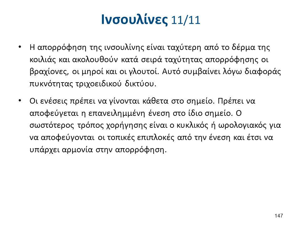 Τρόποι χορήγησης ινσουλίνης 1/2