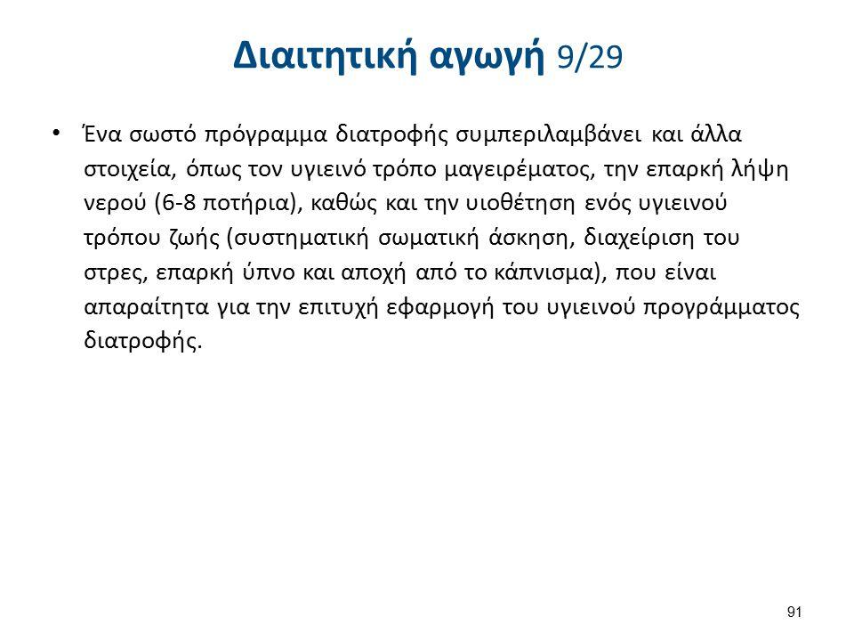 Διαιτητική αγωγή 10/29