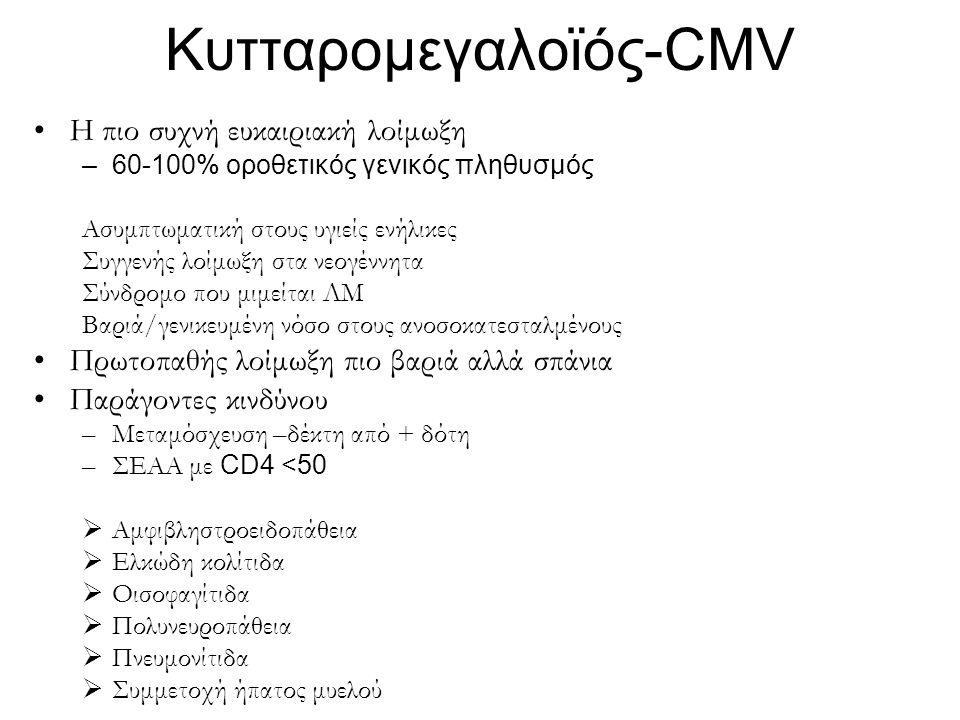 Κυτταρομεγαλοϊός-CMV