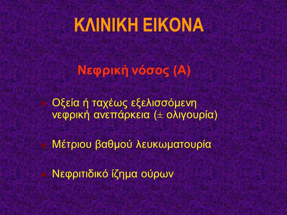 KΛINIKH EIKONA Νεφρική νόσος (Α)