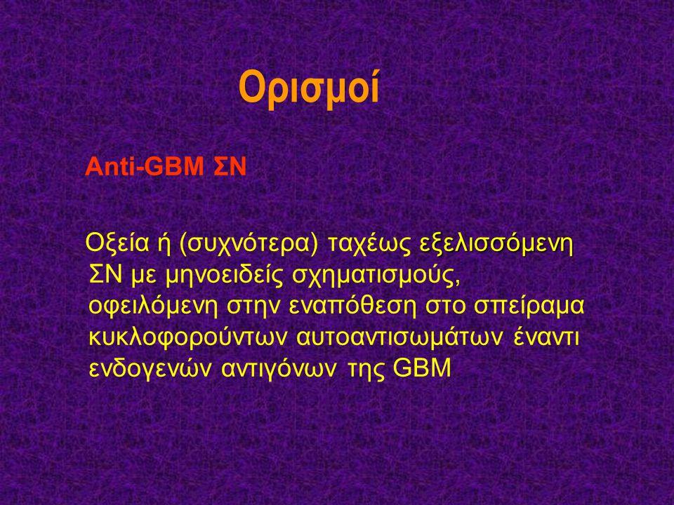 Ορισμοί Anti-GBM ΣΝ.