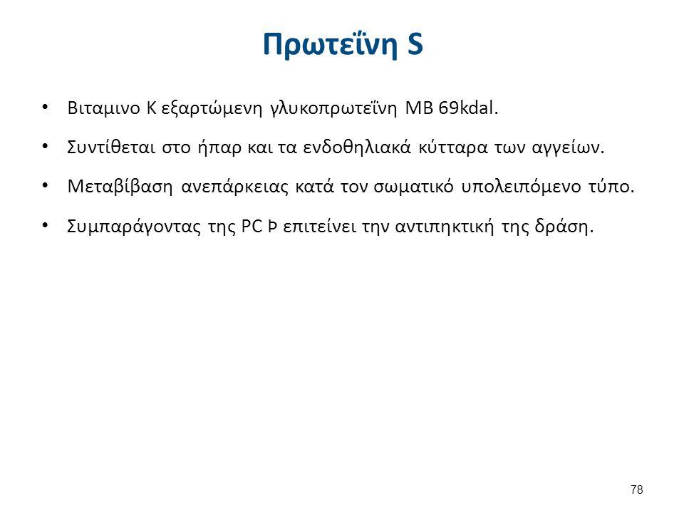Έλλειψη PS 1/2 Επίκτητη Εγκυμοσύνη (δεύτερο τρίμηνο).