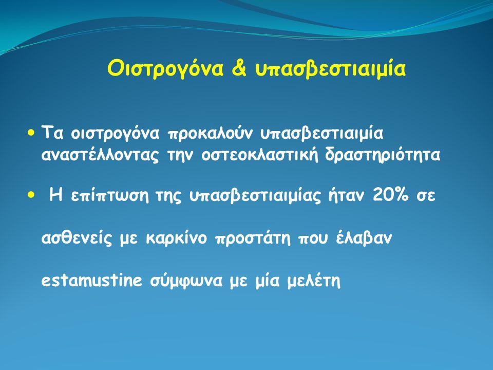 Οιστρογόνα & υπασβεστιαιμία