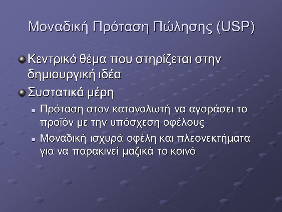 Μοναδική Πρόταση Πώλησης (USP)