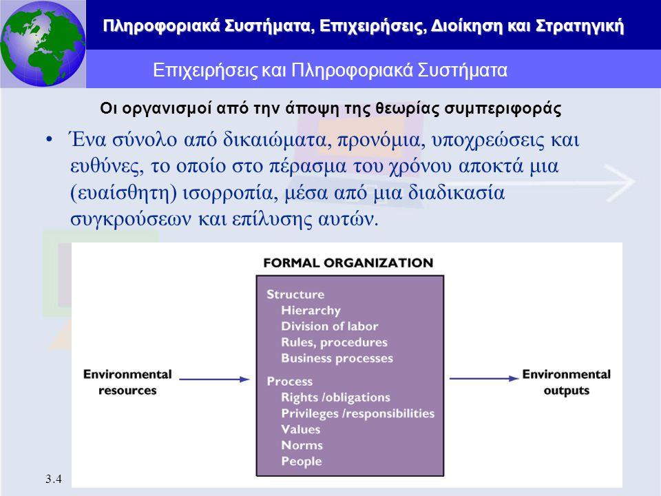 Επιχειρήσεις και Πληροφοριακά Συστήματα