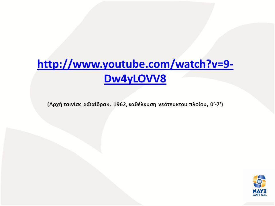 (Αρχή ταινίας «Φαίδρα», 1962, καθέλκυση νεότευκτου πλοίου, 0'-7')