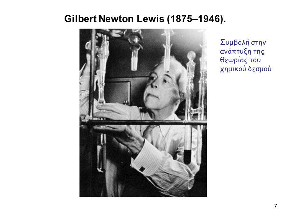 Gilbert Newton Lewis (1875–1946).