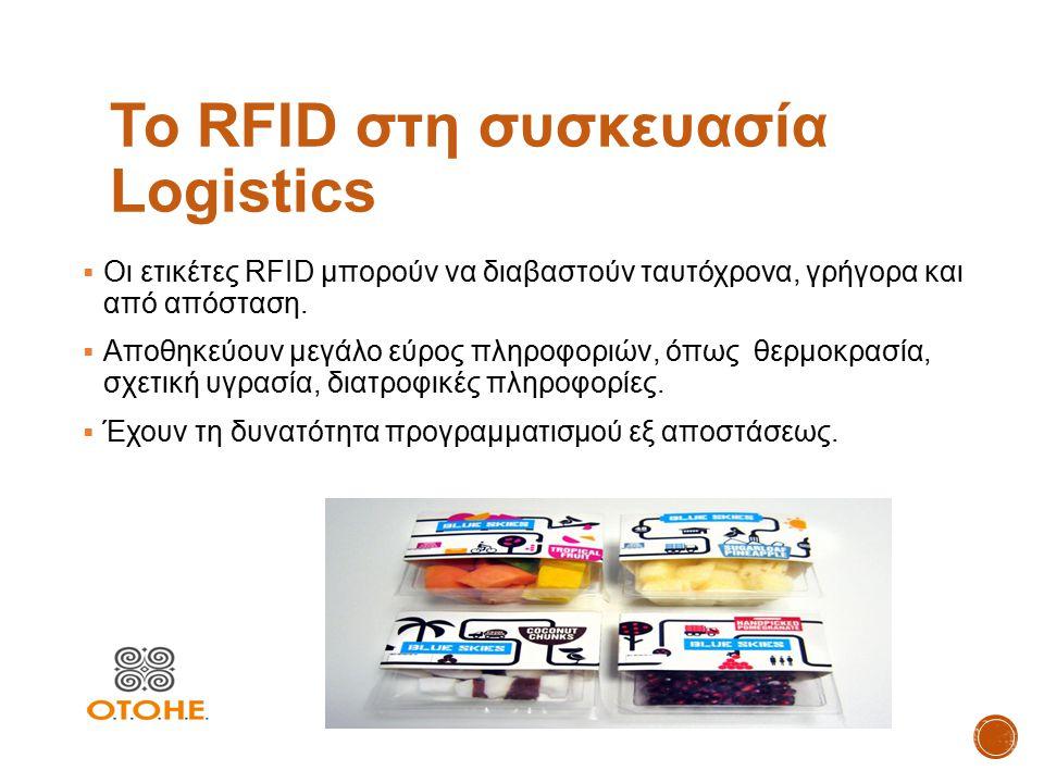 Το RFID στη συσκευασία Logistics