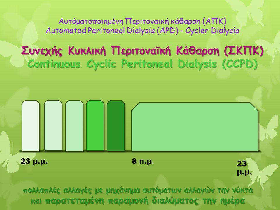 Συνεχής Κυκλική Περιτοναϊκή Κάθαρση (ΣΚΠΚ)