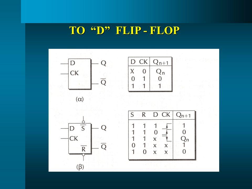 ΤΟ D FLIP - FLOP
