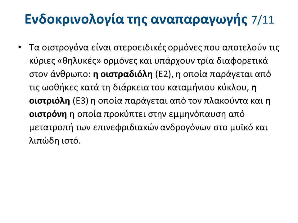 Ενδοκρινολογία της αναπαραγωγής 8/11
