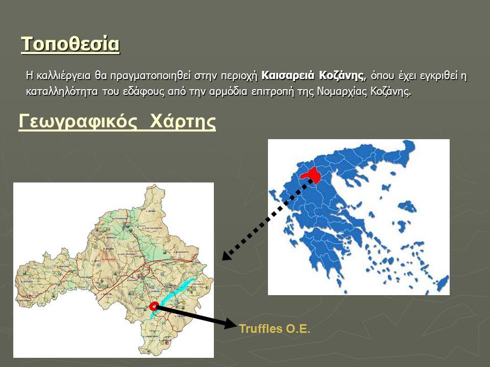Τοποθεσία Γεωγραφικός Χάρτης Truffles Ο.Ε.
