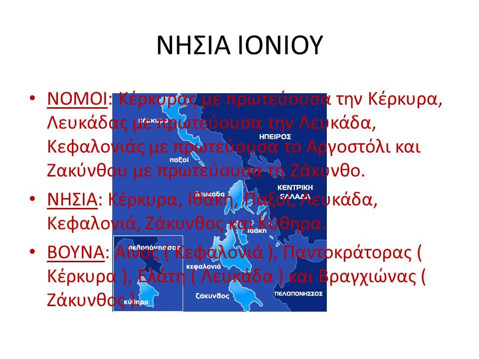 ΝΗΣΙΑ ΙΟΝΙΟΥ