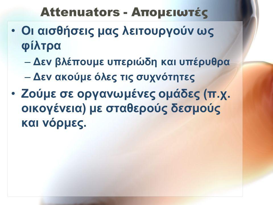 Attenuators - Απομειωτές