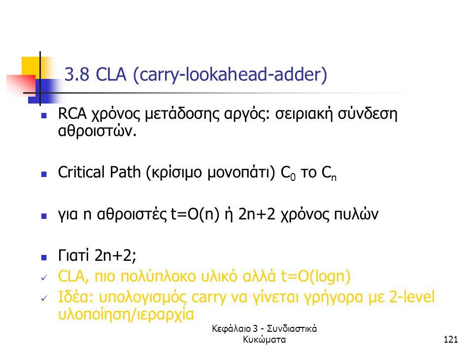 3.8 CLA (carry-lookahead-adder)