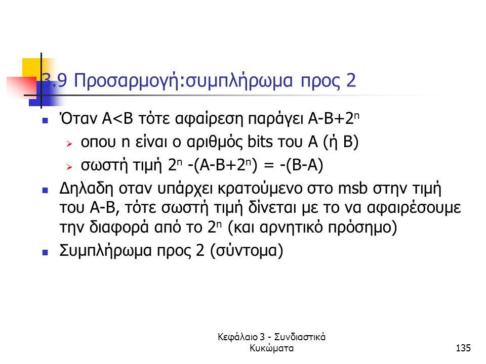 3.9 Προσαρμογή:συμπλήρωμα προς 2