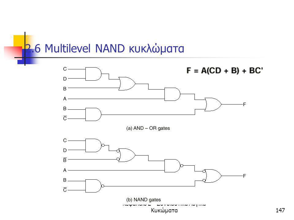 2.6 Μultilevel ΝΑΝD κυκλώματα