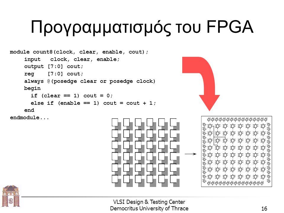 Προγραμματισμός του FPGA