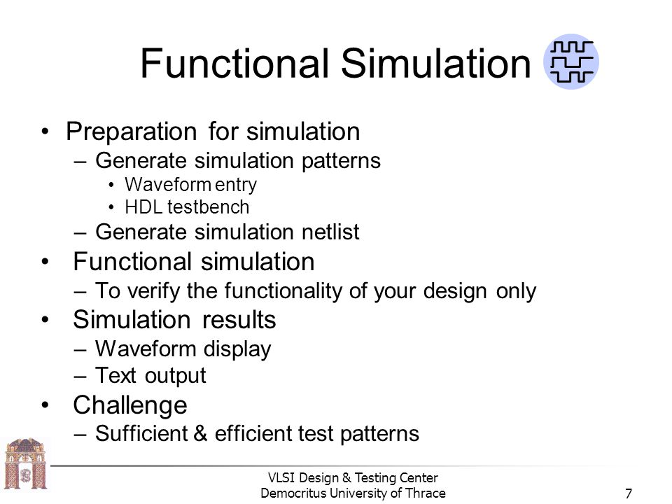 Functional Simulation