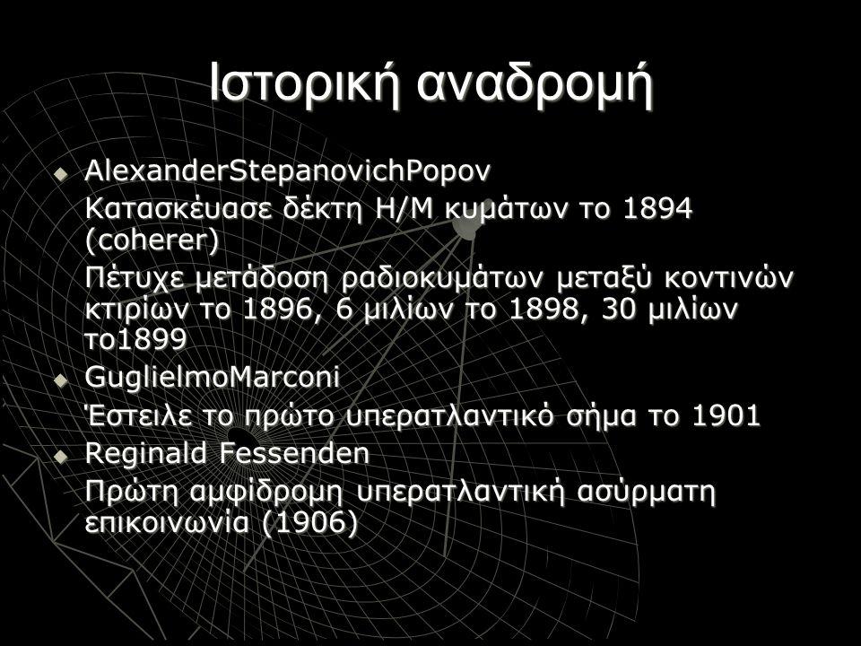 Ιστορική αναδρομή AlexanderStepanovichPopov
