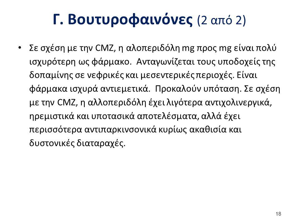 Δ. Διφαινυλπιπεριδίνες (1 από 2)