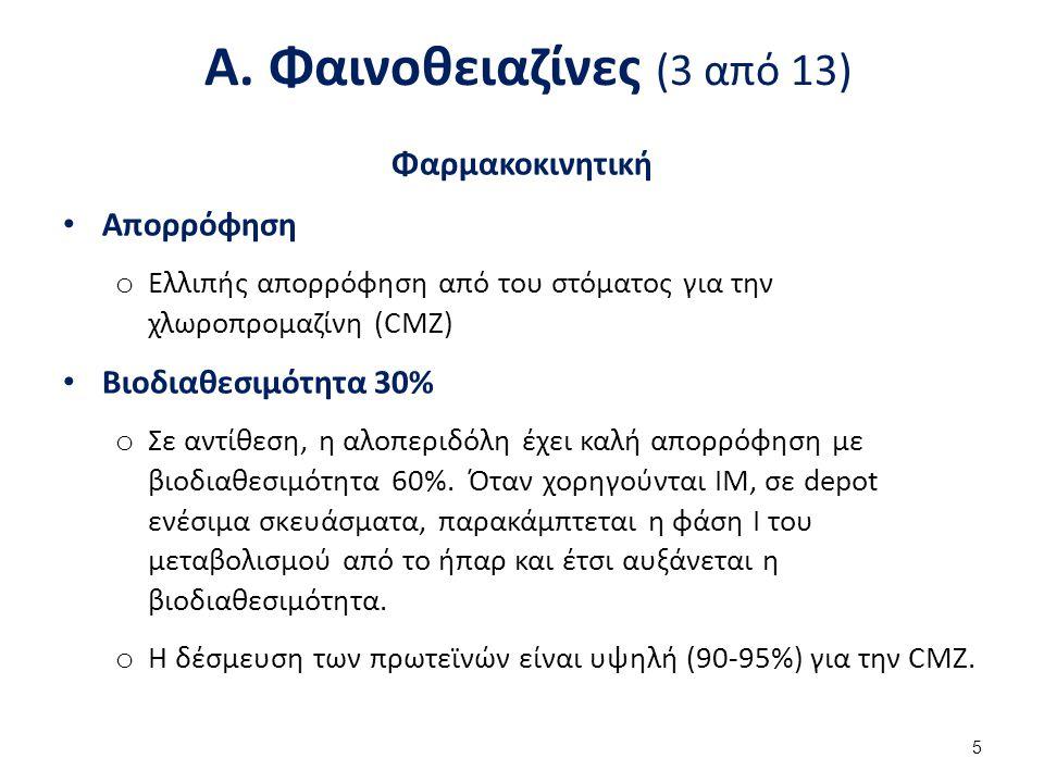 Α. Φαινοθειαζίνες (4 από 13)