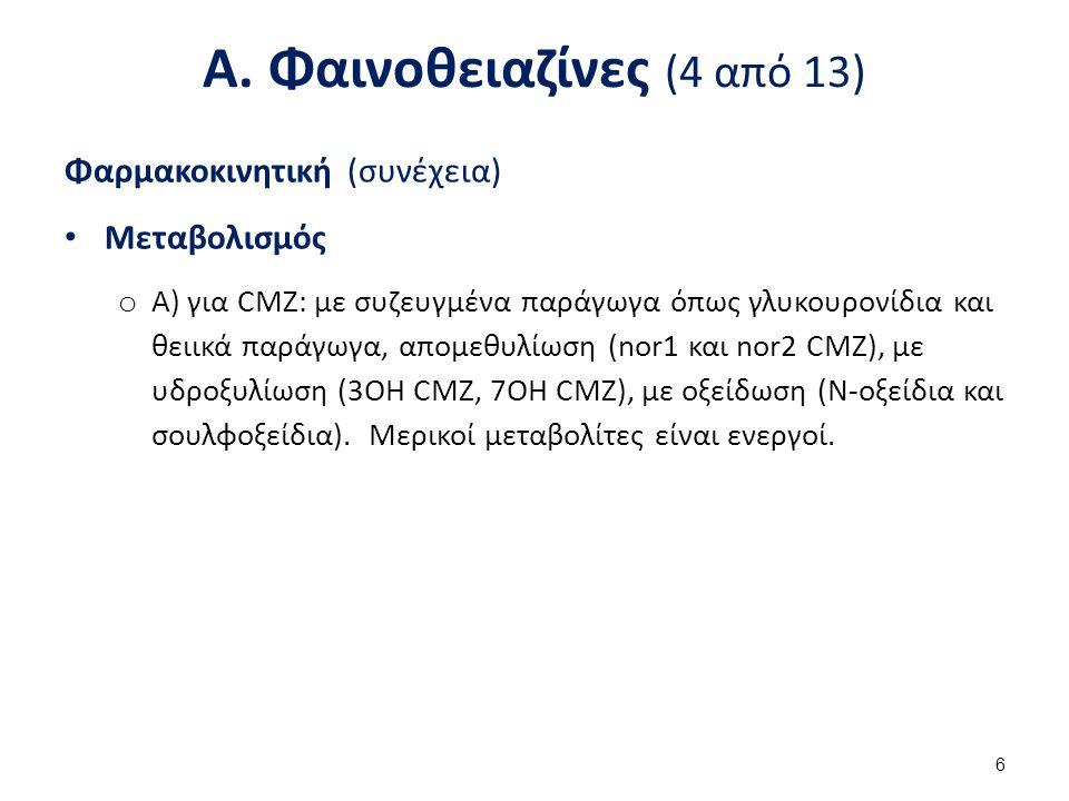 Α. Φαινοθειαζίνες (5 από 13)