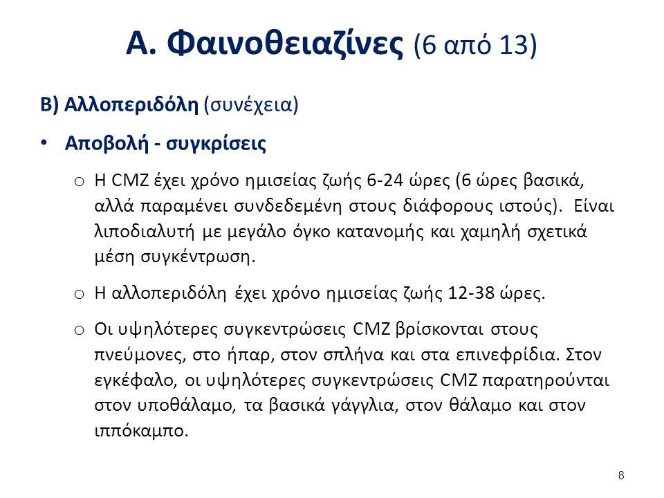 Α. Φαινοθειαζίνες (7 από 13)