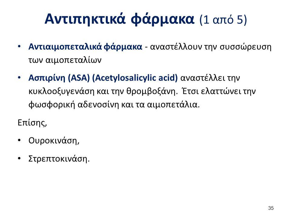 Αντιπηκτικά φάρμακα (2 από 5)