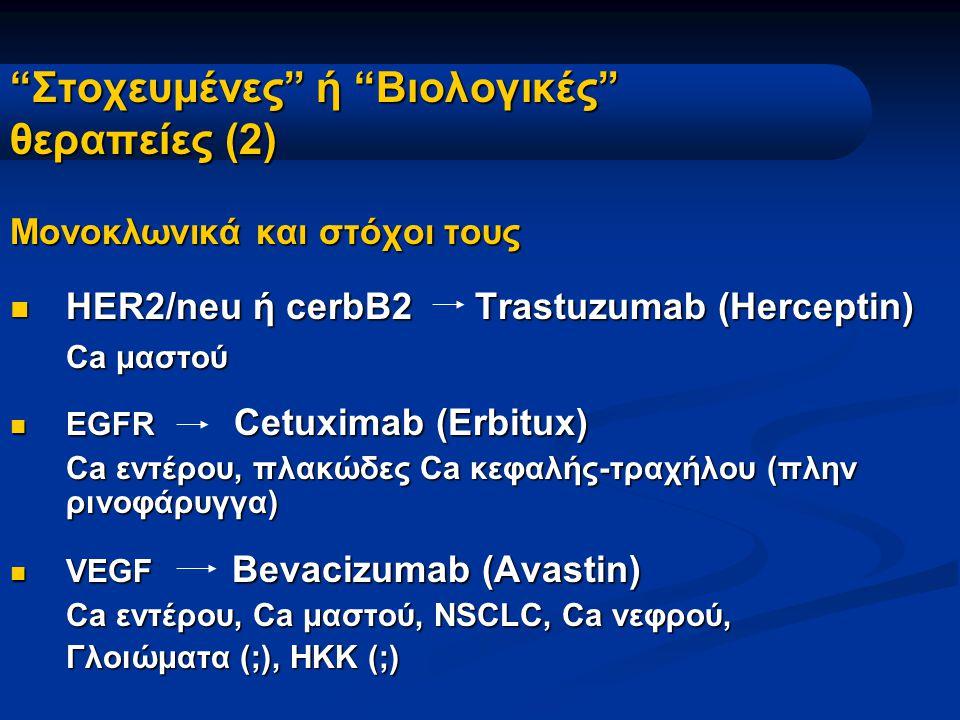 Στοχευμένες ή Βιολογικές θεραπείες (2)