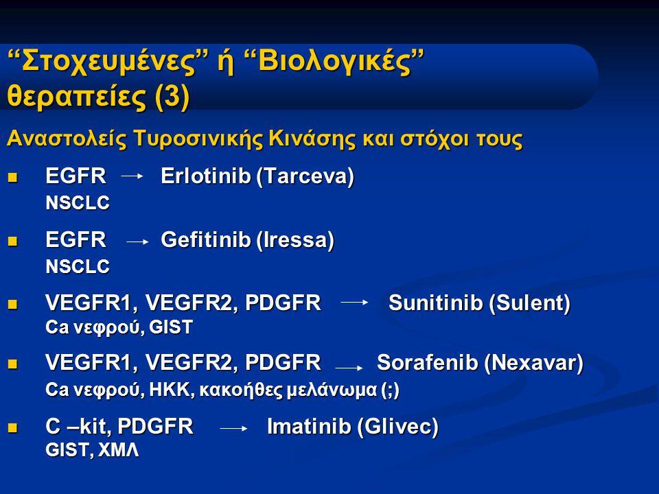 Στοχευμένες ή Βιολογικές θεραπείες (3)