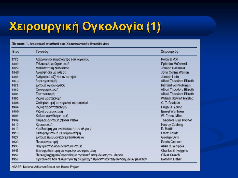 Χειρουργική Ογκολογία (1)