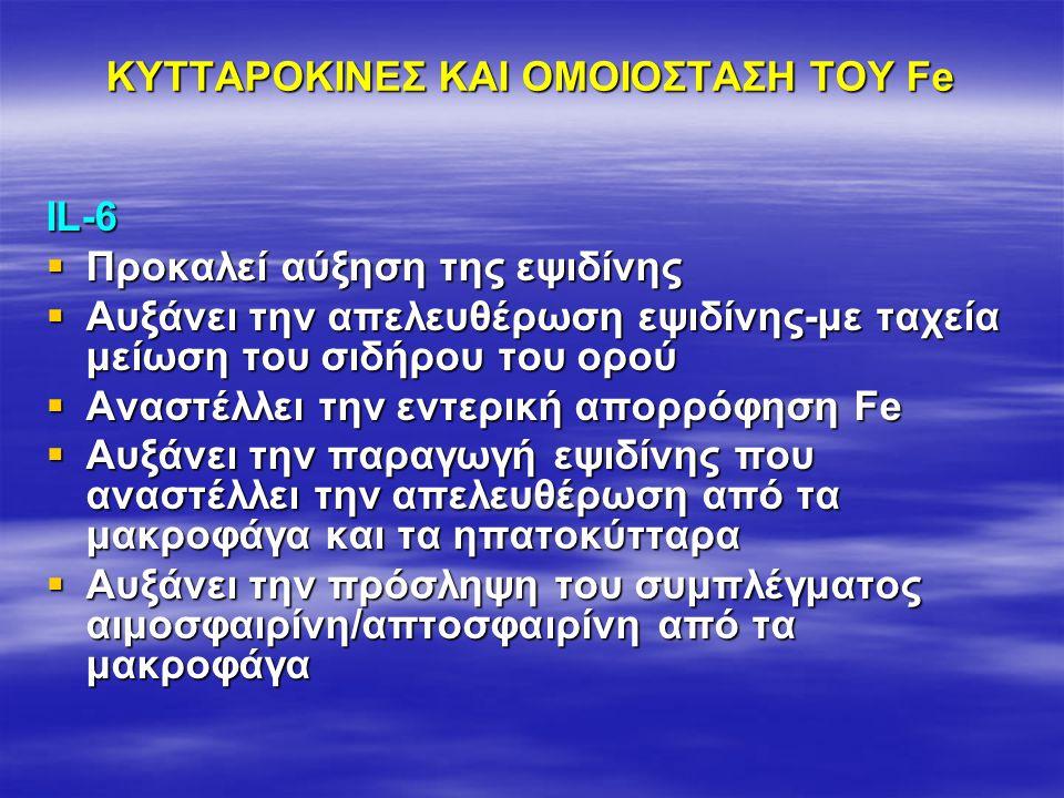 ΚΥΤΤΑΡΟΚΙΝΕΣ ΚΑΙ ΟΜΟΙΟΣΤΑΣΗ ΤΟΥ Fe