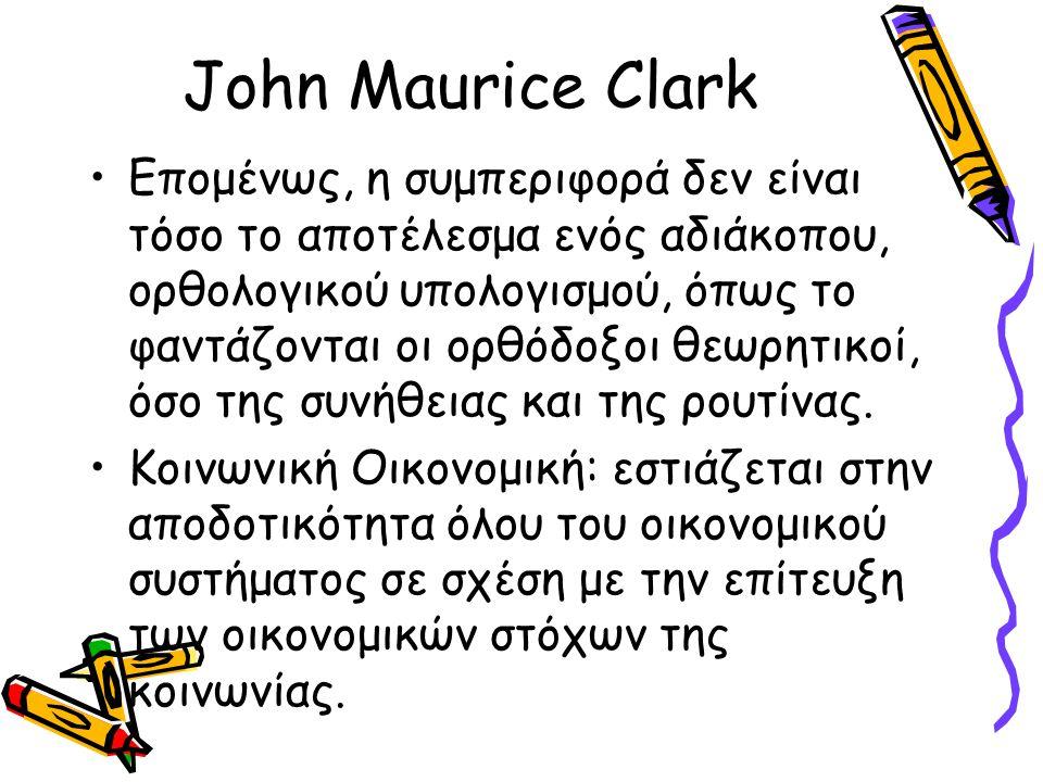John Maurice Clark