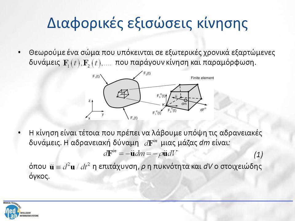Διαφορικές εξισώσεις κίνησης