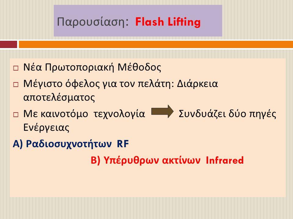 Παρουσίαση: Flash Lifting