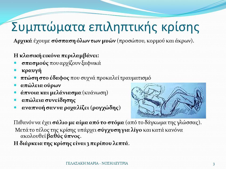 Συμπτώματα επιληπτικής κρίσης