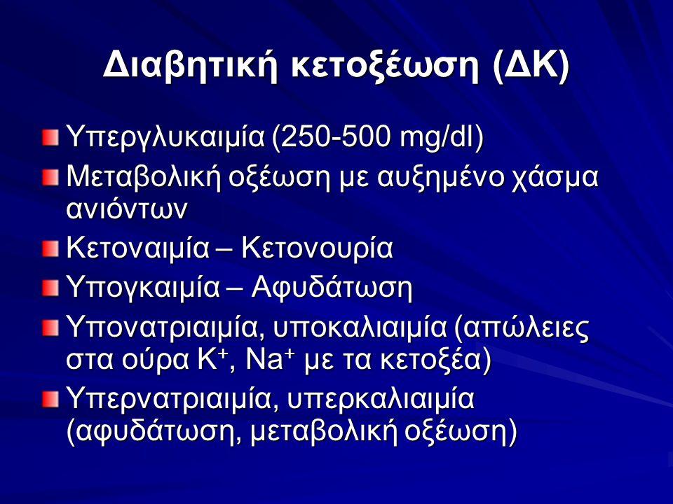 Διαβητική κετοξέωση (ΔΚ)