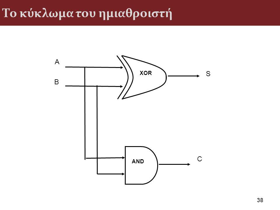 Το κύκλωμα του ημιαθροιστή