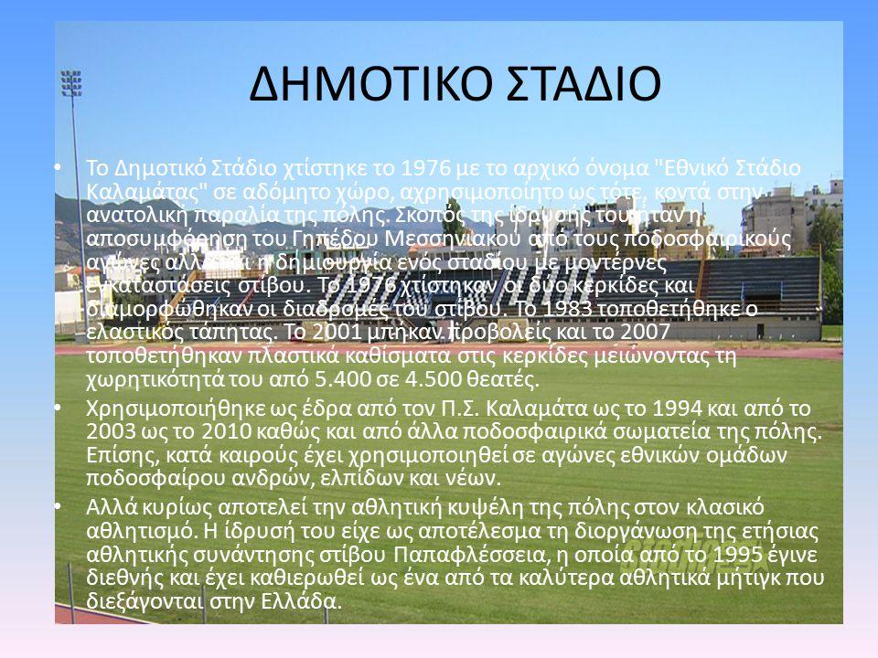 ΔΗΜΟΤΙΚΟ ΣΤΑΔΙΟ