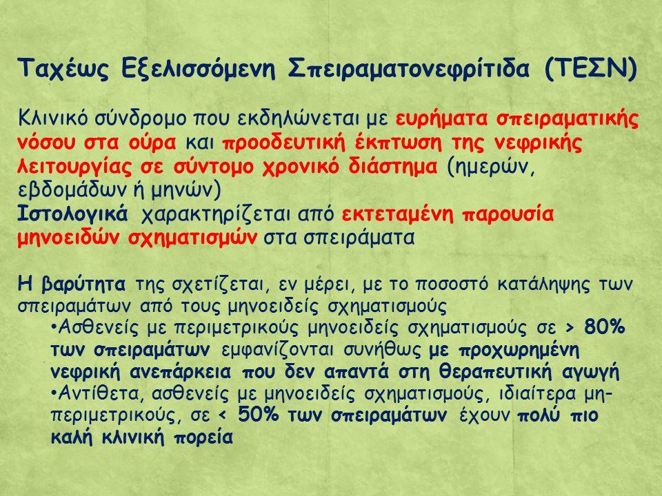 Ταχέως Εξελισσόμενη Σπειραματονεφρίτιδα (ΤΕΣΝ)