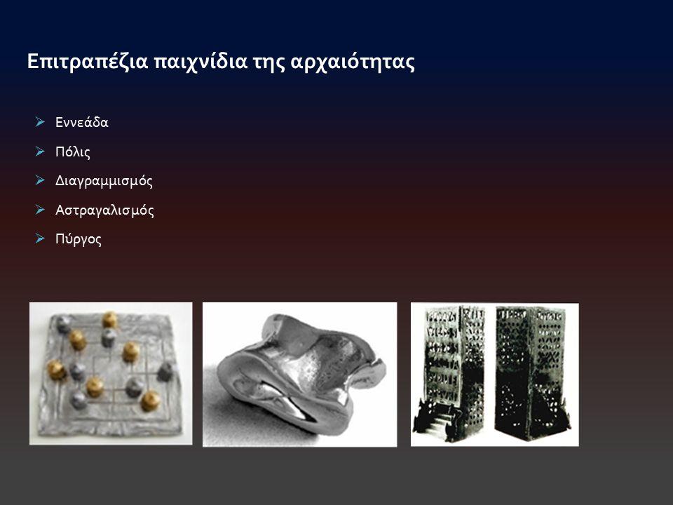 Επιτραπέζια παιχνίδια της αρχαιότητας