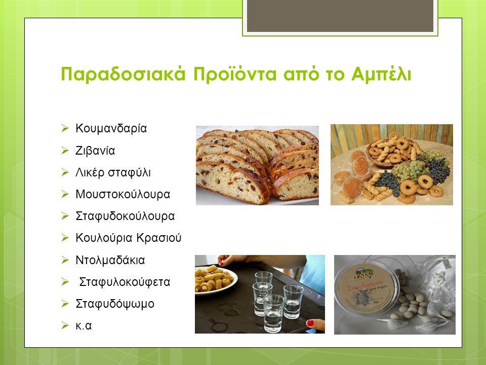 Παραδοσιακά Προϊόντα από το Αμπέλι