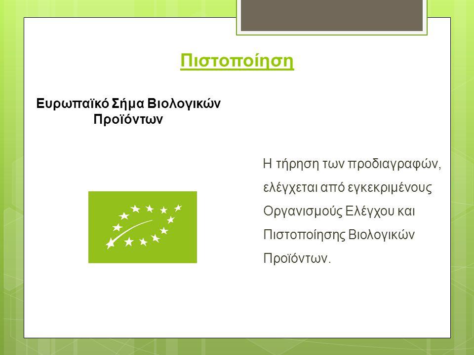 Ευρωπαϊκό Σήμα Βιολογικών Προϊόντων