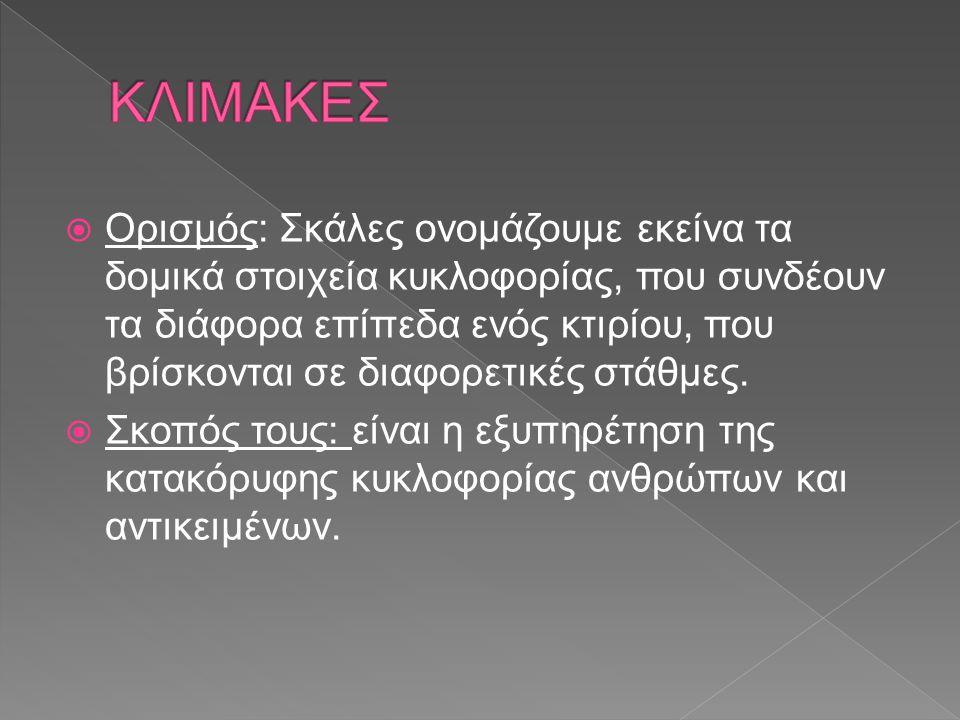 ΚΛΙΜΑΚΕΣ
